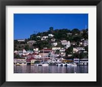 Framed St George, Grenada, Caribbean