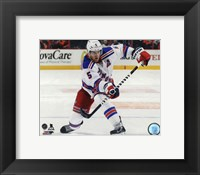 Framed Dan Girardi 2014-15 Action