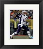 Framed Tom Brady 2014 victory