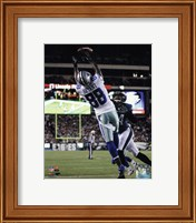 Framed Dez Bryant 2014 catching the ball