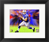 Framed Andrew Luck Motion Blast