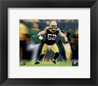 Framed Clay Matthews Motion Blast