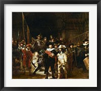 Framed Nightwatch