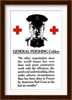 Framed General John Pershing