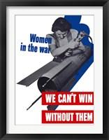 Framed Women in the War