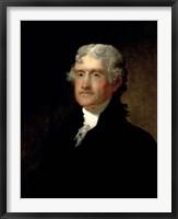 Framed Thomas Jefferson (color)