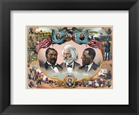 Framed Heroes of the Colored Race