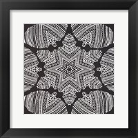 Framed Kaleidoscope Duo I