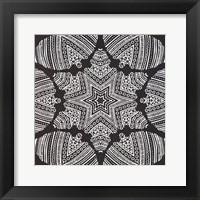 Framed Kaleidoscope Duo I