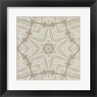 Kaleidoscope Duo II Framed Print