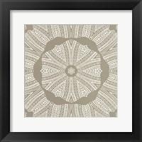 Kaleidoscope Duo IV Framed Print