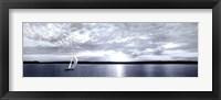 Framed Sunset Sailing
