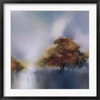 Framed Old Oaks & Sea Mist