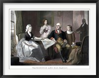 Framed Washington Family