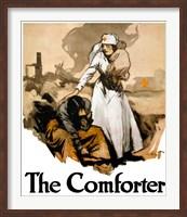 Framed Comforter - Red Cross