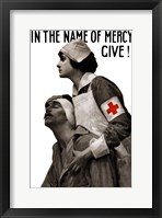 Framed In the Name of Mercy, Give!