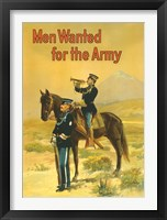 Framed Men Wanted for the Army