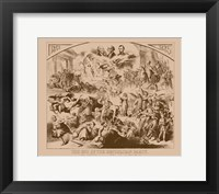 Framed End of the Republican Party - Vintage