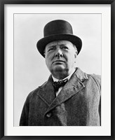 Framed Sir Winston Churchill