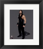 Framed Roman Reigns 2014 Posed