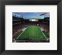 Framed Sports Authority Field at Mile High Stadium 2014