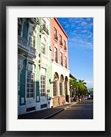 Framed Typical Colonial Architecture, San Juan, Puerto Rico,