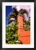 Framed Charlotte Amalie, St Thomas, Caribbean