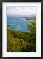 Framed MARTINIQUE, West Indies, Baie du Tresor