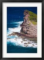 Framed Rabbit Island, Caravelle Peninsula, Reserve Naturelle De La Caravelle, Martinique