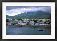 Framed Waterfront, Basseterre, St Kitts, Caribbean