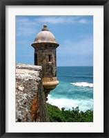 Framed Puerto Rico, San Juan, Fort San Felipe del Morro