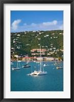 Framed Harbor, St Thomas, US Virgin Islands