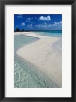 Framed Beach of Half Moon Bay, Turks and Caicos