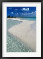 Framed Beach of Half Moon Bay, Turks and Caicos