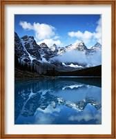 Framed Valley of Ten Peaks, Lake Moraine, Banff National Park, Alberta, Canada