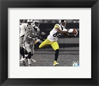 Framed Antonio Brown 2014 Spotlight Action