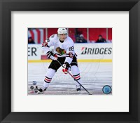 Framed Patrick Kane 2015 NHL Winter Classic Action