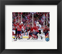Framed Troy Brouwer Game Winning Goal 2015 NHL Winter Classic