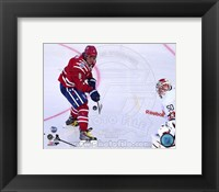 Framed Alex Ovechkin 2015 NHL Winter Classic Action