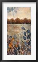 Gilded Horizon II Framed Print
