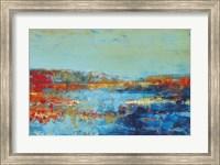 Framed Shoreline Glimmer II