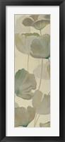 Poppy Impression Panel II Framed Print