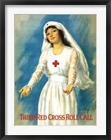 Framed Third Red Cross Roll Call