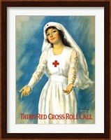 Framed Third Red Cross Roll Call
