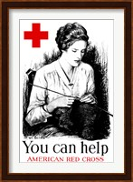 Framed You Can Help - American Red Cross