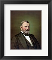 Framed Ulysses S Grant (color portrait)