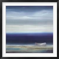 Framed Boat on Shore