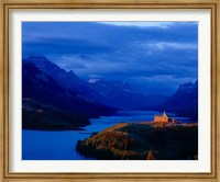 Framed Prince of Wales Hotel, Wateron Lakes National Park, Alberta, Canada