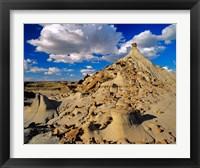 Framed Badlands at Dinosaur Provincial Park in Alberta, Canada