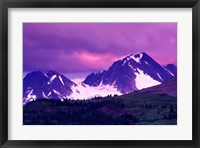 Framed Alberta, Canadian Rockies, Tonquin Valley landscapes